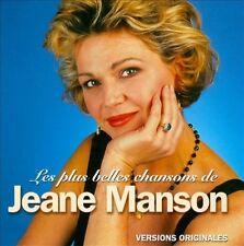 JEANE MANSON - LES PLUS BELLES CHANSONS DE JEANE MANSON NEW CD