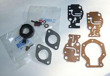 Carburetor Kit w Float Johnson Evinrude  6-20 hp 86-96 See Details 436359 439073