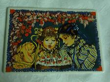 Villeroy & Boch Birthday Party Porcelain Vilbo Card Postcard Plaque Boddenberg