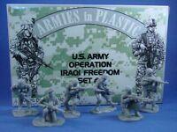 ARMIES IN PLASTIC Modern Warfare US Army Iraq Set #1 Plastic Soldiers FREE SHIP