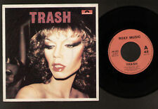 """7"""" ROXY MUSIC TRASH ITALY MINT CONDITION ROCK 1979 GLAM"""