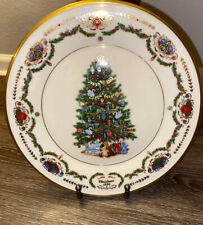 Rare Lenox Christmas Trees Around The World Plate 1996 Russia Collectors Plate
