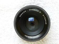 Nikon NIKKOR 50mm f2 Pre-AI lens