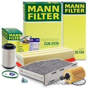 MANN-FILTER INSPEKTIONSPAKET FILTERSATZ B FÜR VW GOLF PLUS 5M 5 1K 1.9 2.0 TDI
