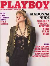 PLAYBOY SEPTEMBER 1985 Venice Kong Madonna BrigitteNielsen Last Stapled Issue RC