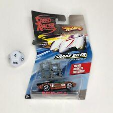Hot Wheels Speed Racer SNAKE OILER W/Jump Jacks & Movie Booklet HTF!