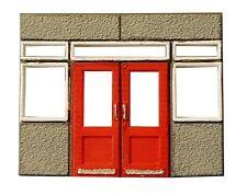 CL07 - Double Doors 1 Modules CLASP building system TT scale  unpainted