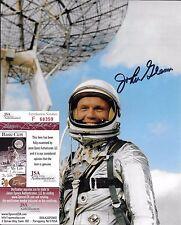 Signed John Glenn autographed 8x10 JSA COA