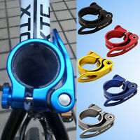 New GUB CX-49 Aluminum Alloy Bicycle Bike Seat Post Clamp QR Quick Release