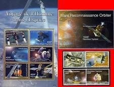 TOGO 2006 SPACE VOYAGES set + S/S +M/S  MNH CV$20.75