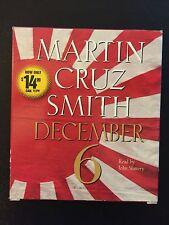 December 6 by Martin Cruz Smith (2008, CD, Abridged)