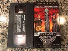 Highlander Endgame VHS! 2000 Fantasy! Mortal Combat Gunmen The Hunted