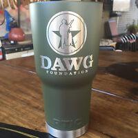 Flat Army Green Powder Coating Paint - New 1LB Olive Drab