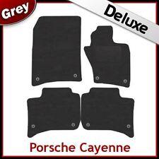PORSCHE CAYENNE 2010 2011 2012 Tailored LUSSO 1300g TAPPETINI AUTO GRIGIO