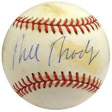 Bill Bradley Autographed Signed AL Baseball Senator, Knicks Beckett S75056