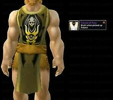 RARE TABARD OF FURY - YELLOW WORLD OF WARCRAFT WOW LOOT TCG UDE