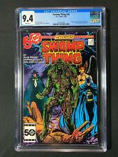 Swamp Thing #46 CGC 9.4 (1986) - Hawkman & Batman app