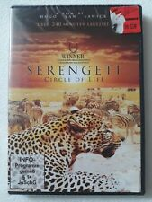 SERENGETI - CIRCLE OF LIFE DVD ÜBER 240 MINUTEN DAUERNDE TIER DOKUMENTATION.