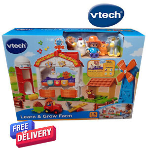 VTech Learn & Grow Farm, Animals And Characters Child Play New