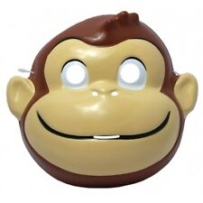 Curious George PVC Mask Child Kids Monkey Book Movie TV Show Cartoon Costume