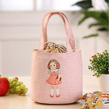 Thermal Insulated Box Tote Cooler Shoulder Bags Bento Pouch Lunch Storage Case#