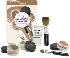 Bare Minerals Up Close & Beautiful 30-Day Complexion Starter Kit Golden Tan NEW