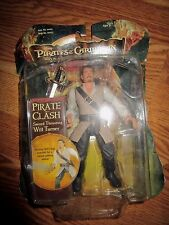 "2006 PIRATES OF THE CARIBBEAN DEAD MANS CHEAT WILL TURNER 7"" FIGURE IN BOX*"