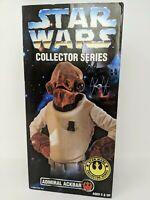 "Vintage Star Wars Collectors Series 12"" Admiral Ackbar Figure"