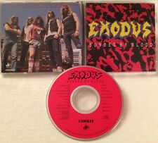 Exodus - Bonded By Blood CD OOP 1989 COMBAT death angel slayer dark angel