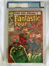 Fantastic Four Annual #6 CGC (old label) 8.0 Very Fine Off White to White Pages