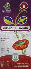 VIP TICKET UEFA Euro 2012 Ukraine - Schweden # Match 8 in Kiew