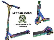 Team Dogz Pro 4 Rainbow Neo Chrome Oil Slick Stunt Neochrome Stunt Push Scooter