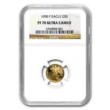 1990-P 1/10 oz Proof Gold American Eagle Coin - PF-70 NGC - SKU #19320