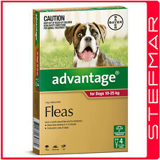 Advantage for Dogs 10-25Kg Large Red 4Pack