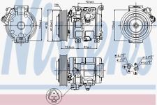 Kompressor Klimaanlage - Nissens 89250