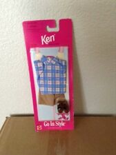 Vintage 1997 Ken Go In Style Fashions Shorts Shirt Shoes