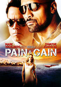 Pain & AND Gain (DVD) Dwayne Johnson, Mark Wahlberg, Brand NEW - Fast Shipping!