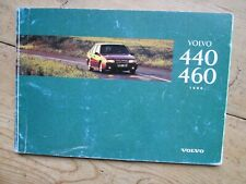 VOLVO 440 / 460 1996 OWNERS GUIDE