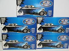 Hot Rod Smooth Light 100mm Size Cigarette Tubes 5 Boxes 1,000 Tubes