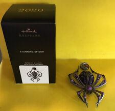 2020 Hallmark Stunning Spider Halloween Keepsake Ornament Sdb