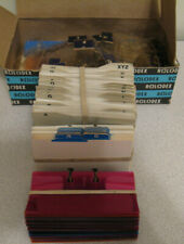 Vtg Lot Of Rolodex Business Card File Dividers Protectors Alphabet Tabs Guides