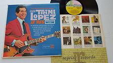 TRINI LOPEZ - More Live at PJ's MONO 1963 ROCK N ROLL Folk Rock (LP)