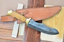 """Pro Tactical Army Combat 12"""" inchs knife Damascus Blades Survival/Hunting"""