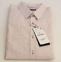 Zara Man Hemd Herren weiss print Slim-fit Grosse L  XL Freizeithemd UVP 29,95€