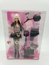 NRFB Doll BARBIE Platinum Blonde Hair TOP MODEL 2007 First Issue #M2977