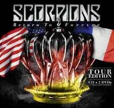 CD de musique rock, scorpions, sur album