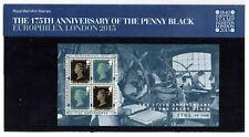 GB 2015 175th Anniv Penny Black Europhilex overprint Presentation Pack. VGC