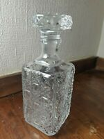Drinks Decanter Glass 10 Inches Tall     x155