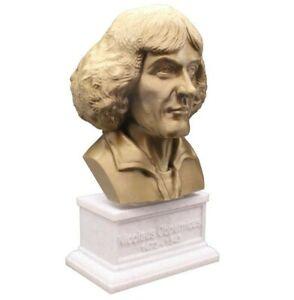 Nicolaus Copernicus 3D Printed Bust Renaissance Polymath Art FREE SHIP