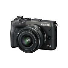 "Canon EOS M6 15-45mm 24.2mp 3"" DSLR Digital Camera Brand New Cod Jeptall D10"